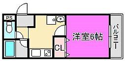 メゾンドールトキワ[2階]の間取り