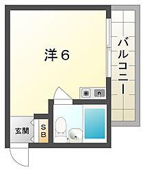 JPアパートメント門真[3階]の間取り
