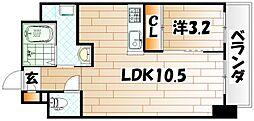 STUDY TOBATA[2階]の間取り
