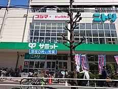 スーパーサミットストア 志村ショッピングセンターまで1524m