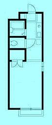 エステート長沢II[1階]の間取り