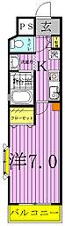 第2フジビル(南柏)[602号室]の間取り