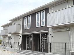兵庫県三木市緑が丘町西4丁目の賃貸アパートの外観