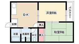 ムーニー新宿[102号室]の間取り