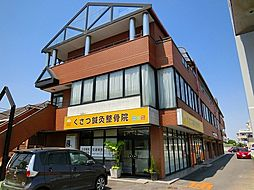 滋賀県草津市草津町の賃貸マンションの外観