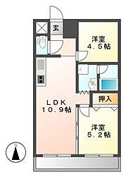 第3フクマルビル[3階]の間取り