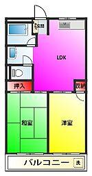 木第1ビル[1階]の間取り
