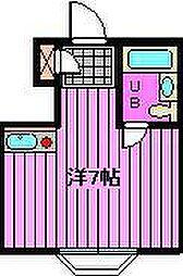 埼玉県さいたま市浦和区岸町2丁目の賃貸マンションの間取り