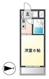 ライフビル[3階]の間取り
