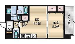 スプランディッド三国1[9階]の間取り