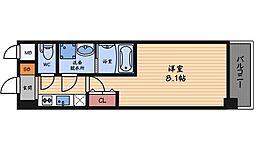 アルグラッド鷺洲[9階]の間取り