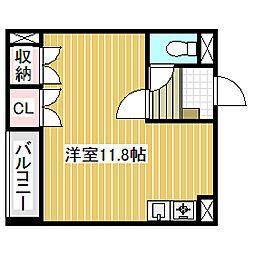 愛知県名古屋市中川区昭和橋通2丁目の賃貸アパートの間取り