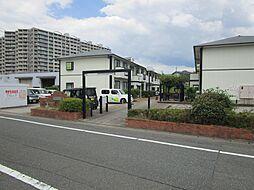福岡県春日市昇町6丁目の賃貸アパートの外観