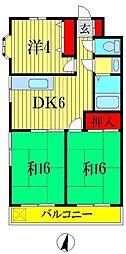 小倉ビル[3階]の間取り