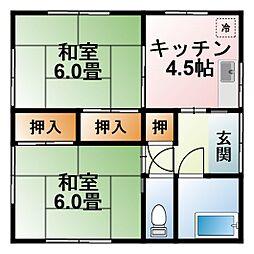 [一戸建] 千葉県茂原市下永吉 の賃貸【/】の間取り