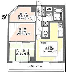 ダイアパレス福生III 3階部分