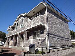 千葉県四街道市山梨の賃貸アパートの外観