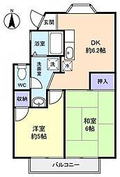 クレスト池田壱番館[2階]の間取り