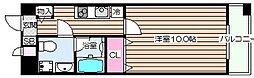 モンサンミッシェル北浜[3階]の間取り