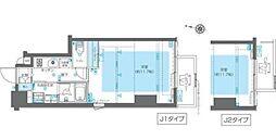 東京メトロ副都心線 北参道駅 徒歩7分の賃貸マンション 5階1Kの間取り
