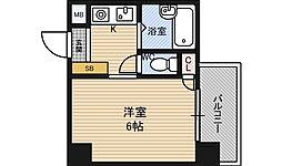 クレイン新大阪[4階]の間取り