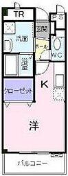ドミトリーハウス湘南[2階]の間取り