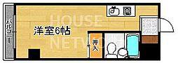 スペース金閣寺[103号室号室]の間取り