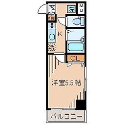 Wing横浜[2階]の間取り