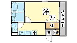 須磨寺駅 6.4万円