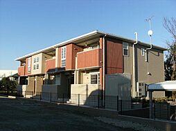 埼玉県川口市安行領家の賃貸アパートの外観