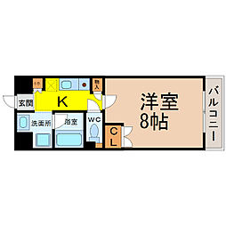 ガーデンハイツマルタカ2[701号室]の間取り