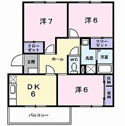 T&M2[3階]の間取り