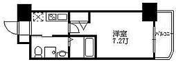東京都豊島区西池袋3丁目の賃貸マンションの間取り