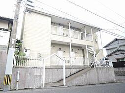 福岡県北九州市小倉北区皿山町の賃貸アパートの外観