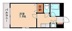 サン・レイン[2階]の間取り