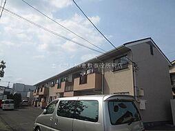 岡山県倉敷市水島東川町丁目なしの賃貸アパートの外観