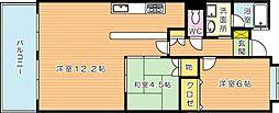 アプローズ青山(分譲賃貸)[6階]の間取り