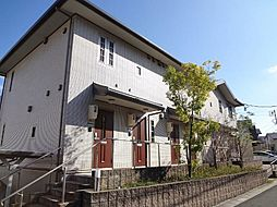 愛知県長久手市市が洞3丁目の賃貸アパートの外観