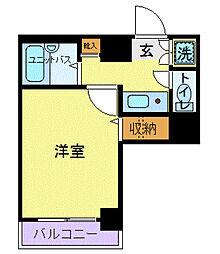 ロアール小石川植物園(ロアールコイシカワショクブツエン)[4階]の間取り