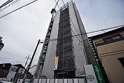 クローバーグランツ阿倍野[9階]の外観