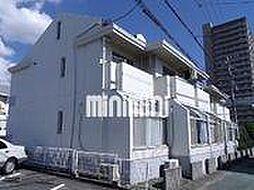 上島ロイドアパートB[2階]の外観