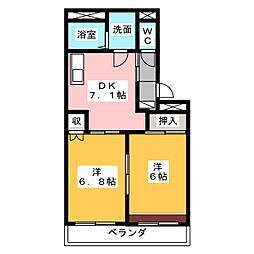 フューチャー[1階]の間取り