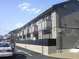 京都府京都市西京区樫原上池田町の賃貸アパートの外観