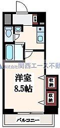 M'プラザ高井田[10階]の間取り