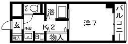 アヴァンセ21[201号室号室]の間取り