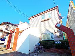 東京都東久留米市氷川台1丁目の賃貸アパートの外観
