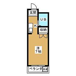 ジュネス美也古パートI[1階]の間取り