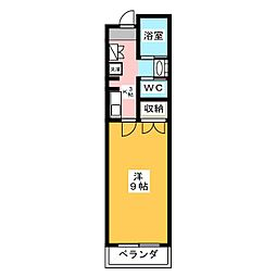 MJハイツ[2階]の間取り