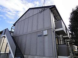 滋賀県大津市仰木の里東1丁目の賃貸アパートの外観