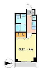 プレサンスSAKAEリバースタイル[10階]の間取り